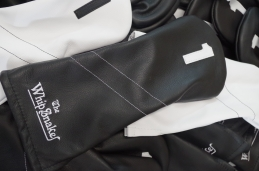 The Pure Collection in stealth black leather and pure white leather made a classy gift for the players at TPC Stonebrae event!