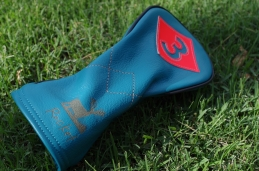 Custom fairway headcover for PGA TOUR pro John Rollins.